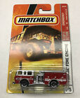 Matchbox 75 Pierce Fire Engine Truck RED NEW SEALED on Card