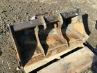 36 BOBCAT EXCAVATOR GRADING BUCKET X CHANGE COUPLER FITS E35  OTHERS
