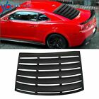 Fit For 2010 2015 Chevy Camaro Coupe Rear Window Louver Windshield Shade Cover