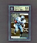 1998 UD Choice Barry Sanders Starquest Gold 100 BGS Pop 1 PSA pop 1 None Higher