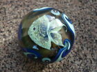 Richard Satava Art Glass Large Paperweight Amazing Detail