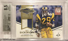 2015 Eric Dickerson Throwback Threads On Card Auto 2 3 TT-ED BGS 8.5