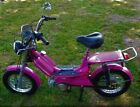 50 cc Gas Powered Moped Pink Color Metro Rider Brand New in A Box Needs Assembly