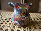 Antique Vtg Murano Millefiori Fratelli Toso Rare Toothpick Studio Art Glass