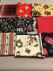 Lot of 45 All Different Christmas Holiday Cotton Fabric Fat Quarters Debbie Mumm