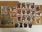 1974 1975 Vintage 28 Cards Marvel Comic Book Heroes Stickers Lot Set Topps