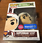 Funko Pop! Heroes DC Flocked Superman In Holiday Sweater Santa Walmart Excl