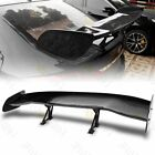 57 UNIVERSAL DRAGON 2 STYLE GT WING PAINTED BLACK TRUNK ADJUSTABLE SPOILER WING