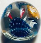 Fratelli Toso Trumpet Flower Paperweight Murano Glass Italy