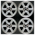 Set 2003 2004 2005 2006 2007 Jeep Liberty OEM 17 Silver Spokes Wheels Rims 9057