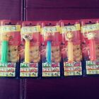 Lion King – Set of 5 Pez Dispensers on Red Character Cards, Disney – NEW