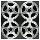Set 1999 2000 2001 2002 2003 2004 Ford Mustang OEM 16 Machined Wheels Rims 3375