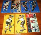 1994 Parkhurst Tall Boys Lot of 7 Autographed New York Rangers + 3 more Lot #10