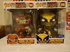 Funko Pop! Marvel Zombies (The Thing & Wolverine) 10 inch Exclusives