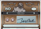 2006 NATIONAL TREASURES JERRY RICE GAME-WORN FACEMASK AUTO AUTOGRAPH CARD #05 10