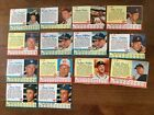 1962 POST BASEBALL LOT OF 58 (56 DIFF) GOOD-VG INCLUDES HOFers and SPs