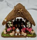 Vintage Columbian Clay Nativity Scene Made In Columbia Very Neat