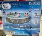 Bestway 13ft x 33in Round Above Ground Pool w Filter and Pump Free Shipping