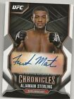 2016 Topps UFC High Impact Cards 25