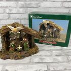 O Holy Night Nativity Stable Scene KMart Trim A Home w Accessories Complete