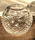 Vintage Waterford Irish Cut Crystal Flower Vase