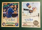 2019 Topps David Bote on card Autograph #31 99 2 card Lot Chicago Cubs Gypsy