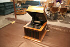 Vintage Antique Edison Amberola 30 Cylinder Player Phonograph With 15 Cylinders