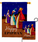 Celebrate Epiphany Garden Flag Nativity Winter Decorative Gift Yard House Banner