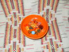 RADIOACTIVE RED FIESTA SWEETS COMPORT WITH 6 GLASS CANDIES FIESTAWARE hc6