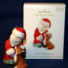 HALLMARK ORNAMENT 2012  A VISIT FROM SANTA #4 IN THE  SERIES