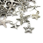 Wholesale Tibetan Star Charms Antique Silver 5 40mm 20 Packs Of 30g