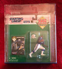 1995 Kenner Starting Lineup SLU Marshall Faulk Colts with Lucite Display Box