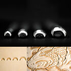 Leather Stamping Tool Fish Scales Pattern Saddle Making Carving Tool 3 D Stamp