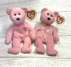 Sakura I & II Japan Exclusive Bear Ty Retired Beanie Baby Collectible Lot Mint