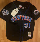 Authentic 2000 Mike Piazza New York Mets Mitchell & Ness World Series jersey 44