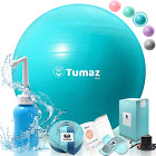 Tumaz Birth Ball Set for Pregnant Women to Help Labor and After Including with