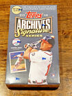 2018 Topps Archives Retired Player Edition Baseball Factory Sealed Hobby Box