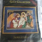 Dimensions Gold Collection The Birth of Christ Cross Stitch Kit Anne Gilbert NEW