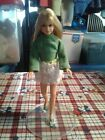 VINTAGE MATTEL TNT BLONDE SKIPPER DOLL IN LOTS OF LACE 1730 IN GOOD CONDITION