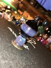 Heady Glass art Bubble Cap Blue Purple UV Pink Dusk Thick Perfect Seal On 25mm