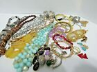 Vintage To Now Costume Jewelry Lot Unsearched Over 25 Pieces All Wearable