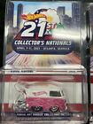 Hot Wheels 2021 Atlanta Nationals 1 of 3 Kool Kombi Pink White Limited to 5500