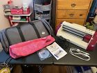 Pazzles Inspiration Vue with quilted cover and carrying case