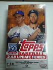 2019 Topps Baseball Update Series Factory Sealed Hobby Box 1 Autograph Or Relic