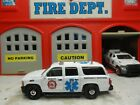 MATCHBOX FIRE CHEVY SUBURBAN EMERGENCY RESPONSE RESCUE PARAMEDIC CUSTOM UNIT