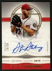 Stephen Strasburg 2021 Topps Definitive Defining Seasons Autograph Auto SP 15 25