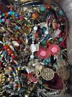 3 lbs Craft Jewelry Lot Vintage to Now  Wearable Pieces  New Packaged Items