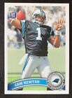 Cam Newton Rookie Cards Checklist and Autographed Memorabilia Guide 48