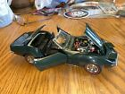 Danbury Mint 1 24 Scale Model Car 1412IR1 1968 Chevrolet Corvette Green
