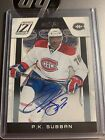 P.K. Subban Cards, Rookie Cards and Autographed Memorabilia Guide 38